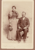 Lea and Edward Bellerive Wedding - 29 Nov 1894